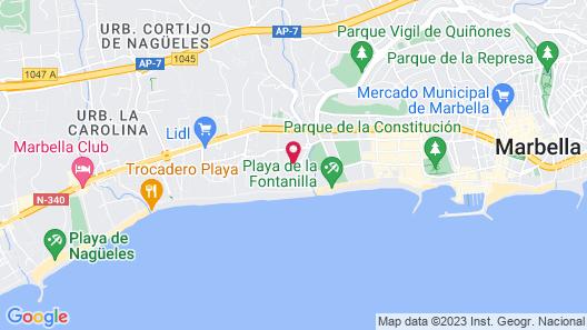 Hotel Don Pepe Gran Meliá Map