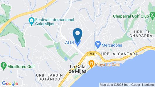 Villa Clavela Map