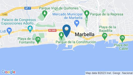 Hotel El Faro Marbella Map