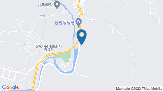 Andong River Sunset Pension Map