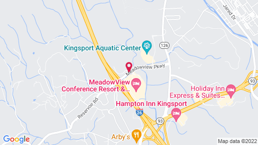 MeadowView Conference Resort & Convention Center Map