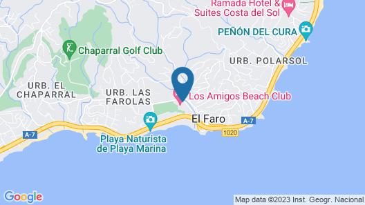 Los Amigos Beach Club by Diamond Resorts Map