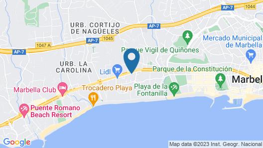 Guadalpin Suites Map