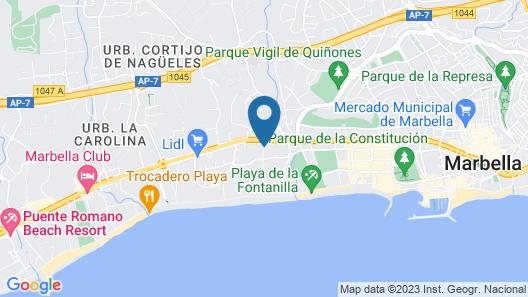 Senator Marbella Spa Hotel Map