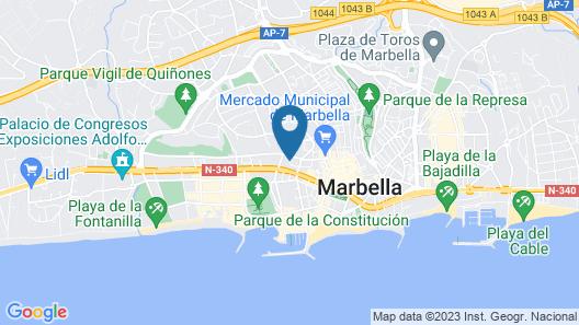 Marbella Inn Map