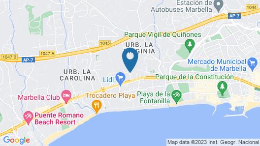 NH Marbella Map