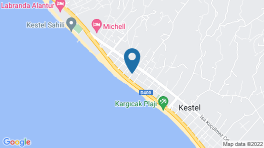 Moda Marine Apartments Map