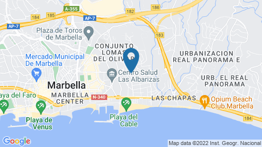 Hotel Daos Map