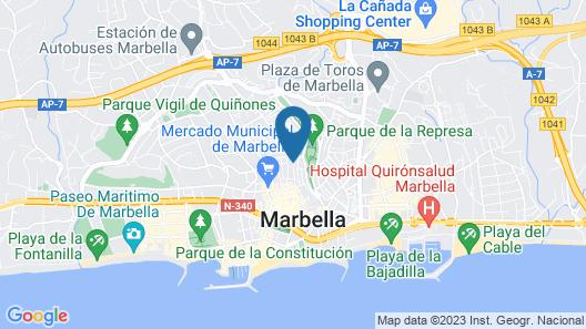 Hostal Apartamentos el Gallo Map