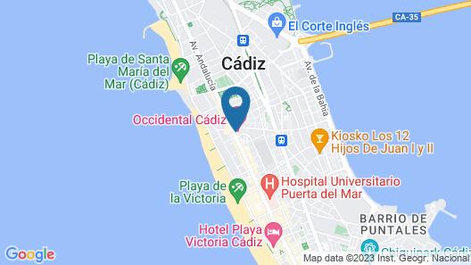 Occidental Cádiz Map