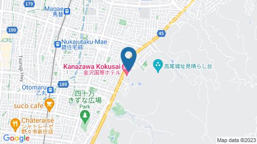 Kanazawa Kokusai Hotel Map