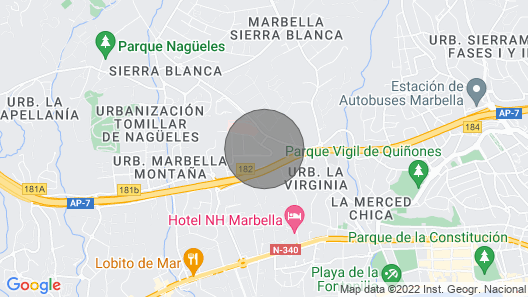 Palacito Arabigo / Andaluz With a lot of Charm Map