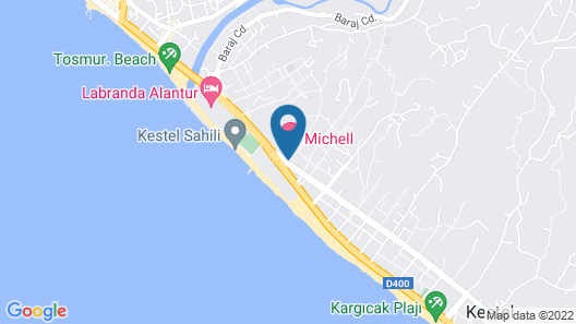 Michell Hotel - Adults Only - All Inclusive Map