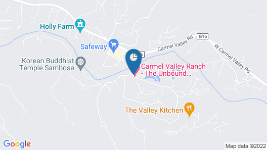 Carmel Valley Ranch, in The Unbound Collection by Hyatt Map