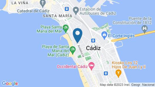 Hotel Monte Puertatierra Map