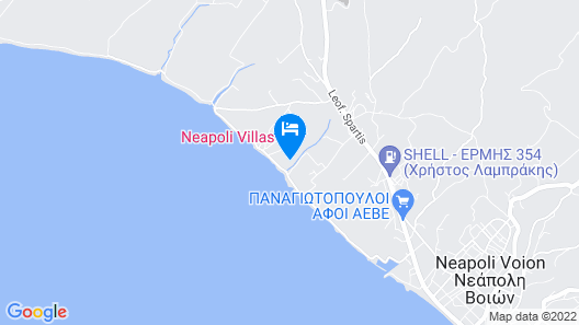 Neapoli Villas Map