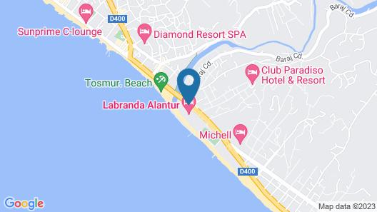LABRANDA Alantur Resort - All Inclusive Map