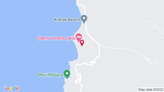Liberty Hotels Lykia - All Inclusive Map