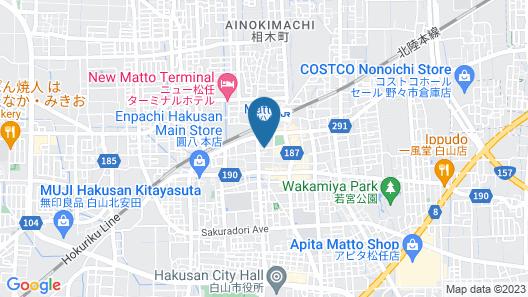 Grand Hotel Hakusan Map
