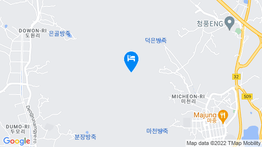 Cheongju Cheongnamdae Pool Villa Map