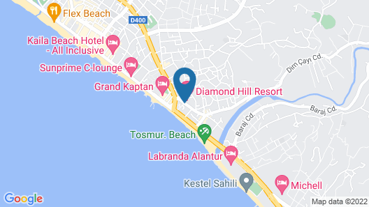 Diamond Hill Resort Hotel Map