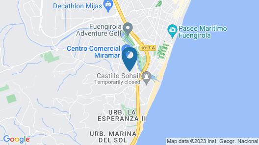 Fuengirola Beach Apartamentos Turisticos Map