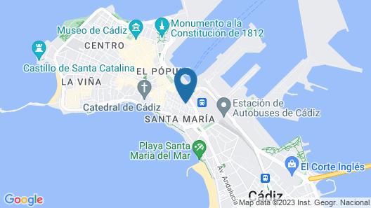 Hotel Boutique Convento Cádiz Map