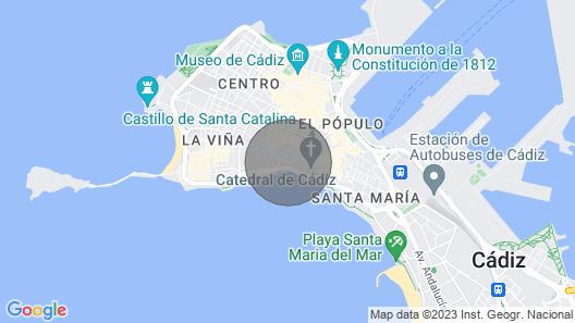Fantástico Estudio en el Centro Map