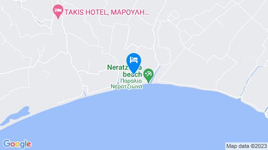 Aquamarine Hotel Map
