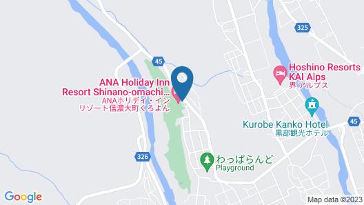 Holiday Inn Resort Kuroyon Map