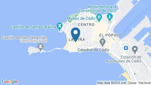 Plaza de la Luz Cádiz Map