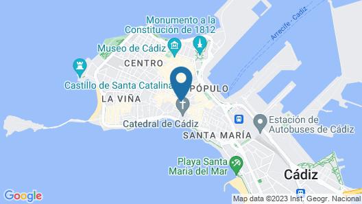 Casa Nautilus Cadiz Map