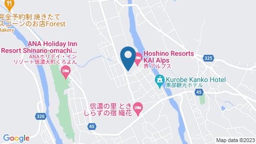 Kurobe View Hotel Map