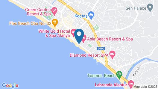 Kaila Beach Hotel - All Inclusive Map