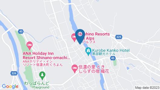Kurobe Sun Valley Hotel Map