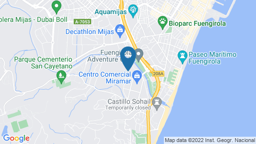 Aparthotel Myramar Fuengirola Map