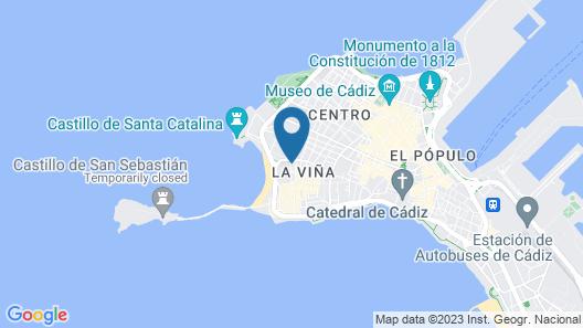 Apartamento La Viña Map