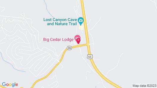 Big Cedar Lodge Map