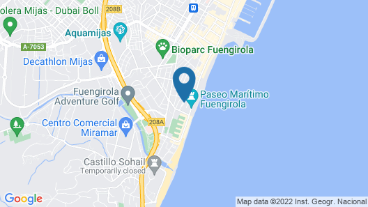 Occidental Fuengirola Map