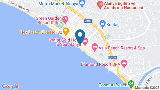 Hotel Bella Bravo Map