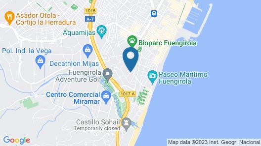 Aparthotel Veramar Map