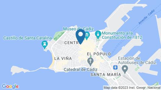 Casa Palacio Cadiz Map