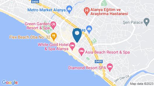 Moonlight Hotel Map