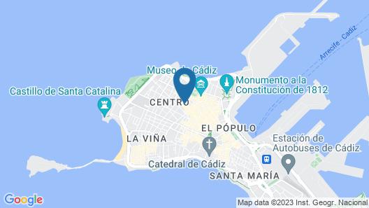 El Armador Casa Palacio Map