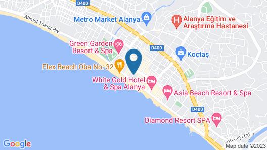 Grand Atilla Hotel Map