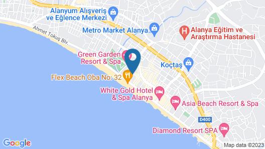 Monte Carlo Hotel - All Inclusive Map