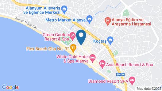 Acar Hotel Map