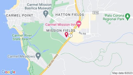 Carmel River Inn Map