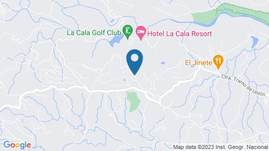 Plush Villa on La Cala Resort With Private Pool and Terrace Map