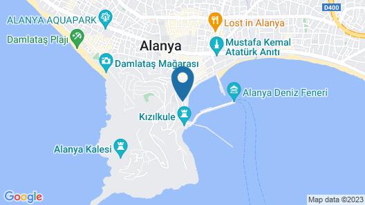 Kaptan Hotel Map